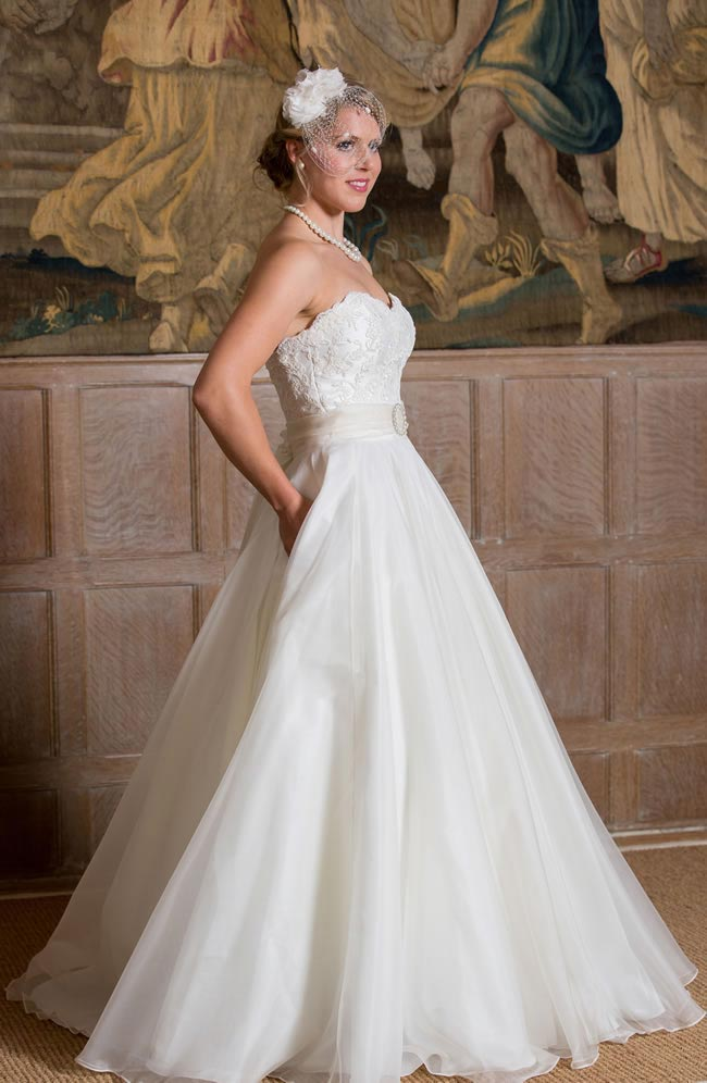 Bella Rosa - Qiana Bridal - Classic Rose Collection