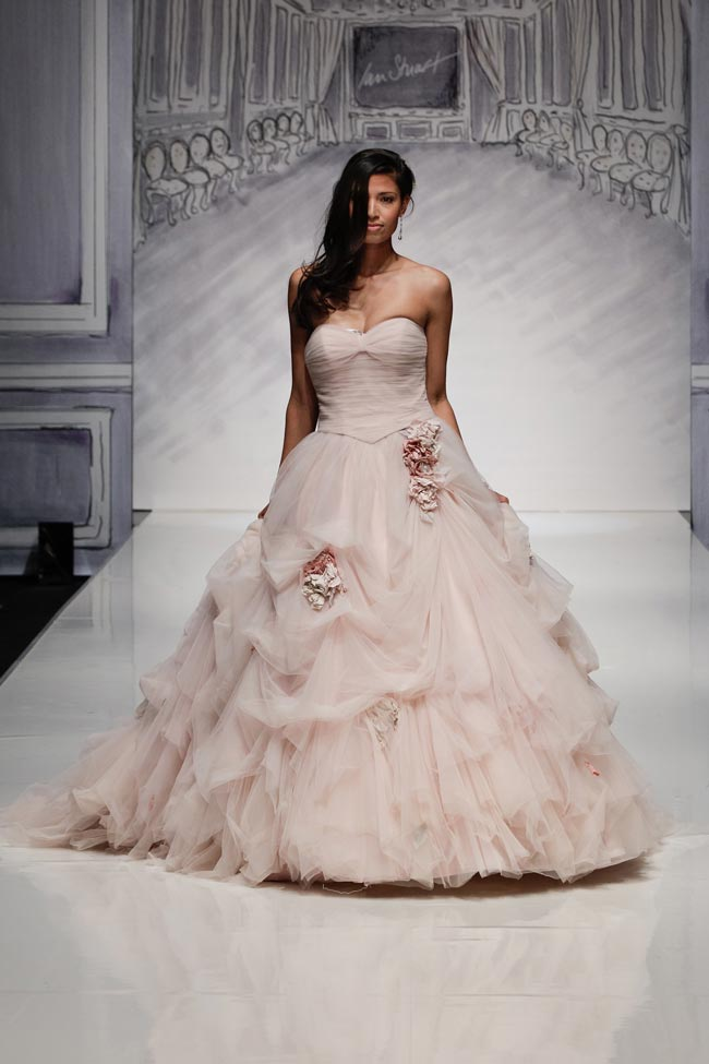 Ian Stuart's dresses boast colour and details