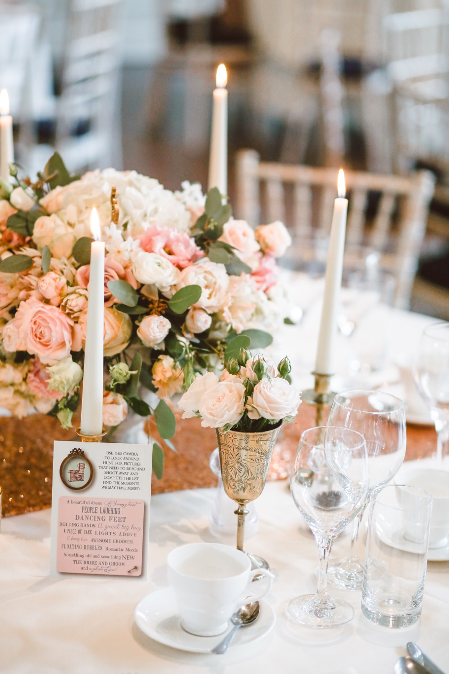 How to decorate your wedding tables for under £10