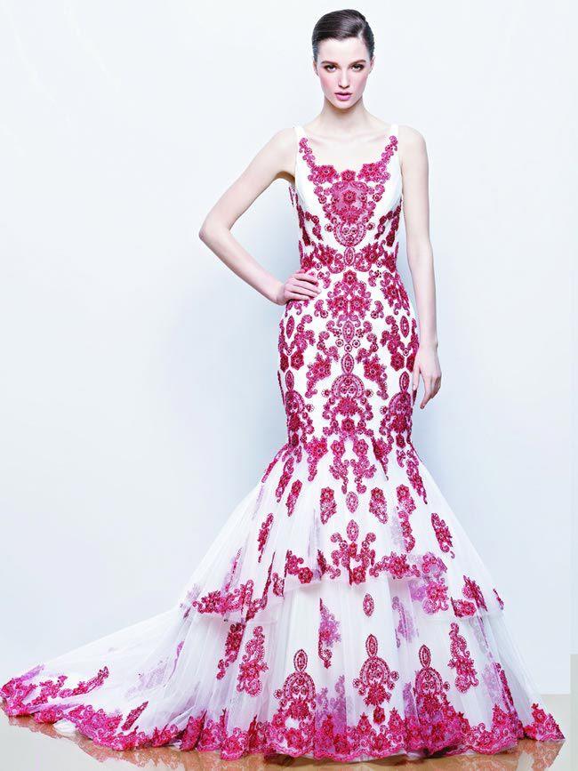 20-favourite-coloured-wedding-dresses-Enzoani - Ilyssa