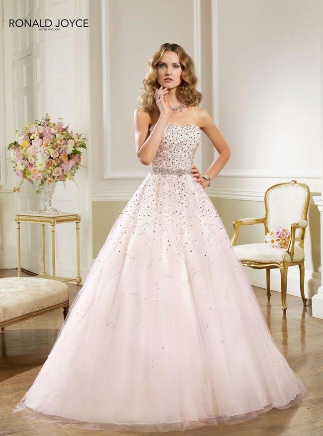 20-favourite-coloured-wedding-dresses-Ronald Joyce - 67026