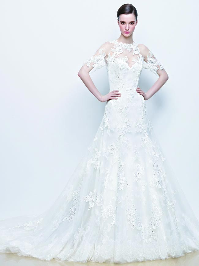 Idona from Enzoani 2014 Wedding Dress Collection