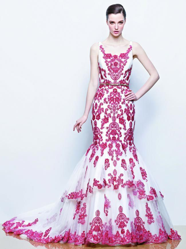 Ilyssa from Enzoani 2014 Wedding Dress Collection