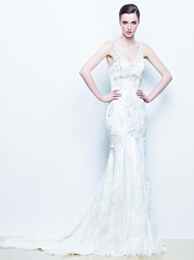 Indigo from Enzoani 2014 Wedding Dress Collection