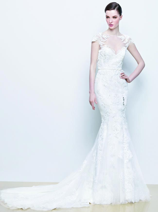Indira from Enzoani 2014 Wedding Dress Collection