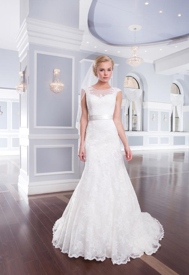 Style 6305 from the Lillian West 2014 Bridal Collection