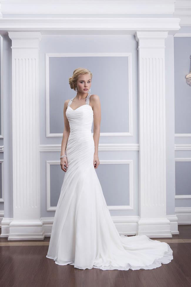 Style 6310 from the Lillian West 2014 Bridal Collection