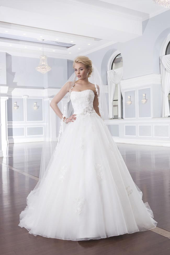 Style 6311 from the Lillian West 2014 Bridal Collection