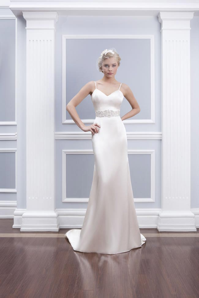 Style 6314 from the Lillian West 2014 Bridal Collection