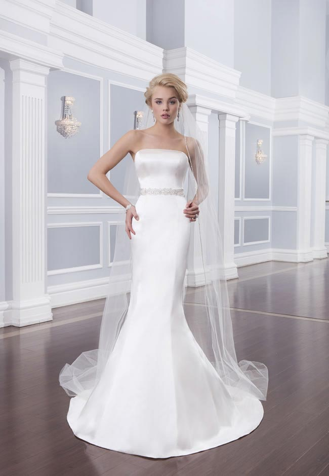 Style 6316 from the Lillian West 2014 Bridal Collection