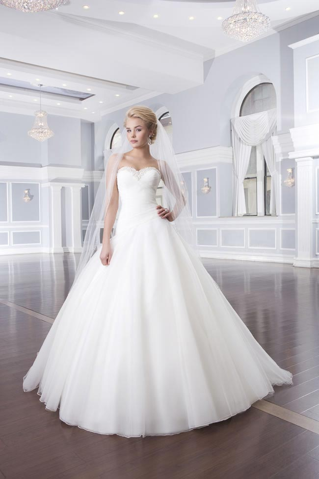 Style 6317 from the Lillian West 2014 Bridal Collection
