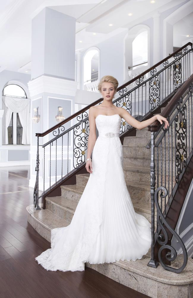 Style 6318 from the Lillian West 2014 Bridal Collection