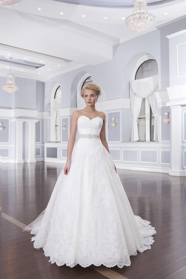 Style 6320 from the Lillian West 2014 Bridal Collection