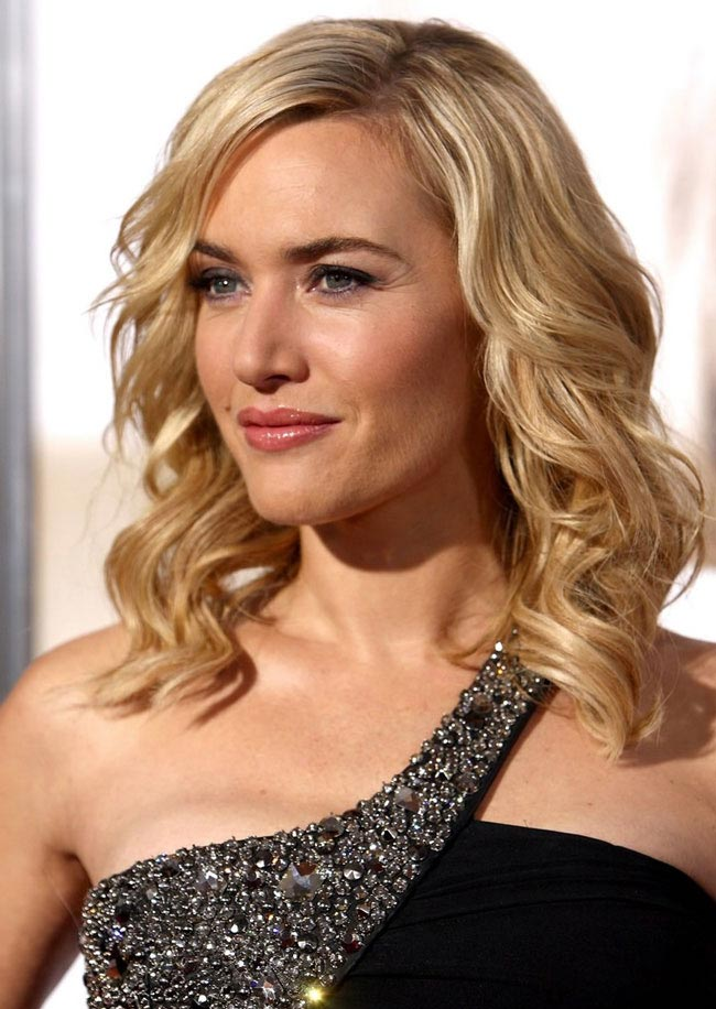 Kate Winslet's shoulder-length curls are hot for 2014