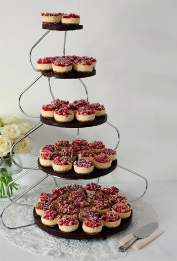 Win a delicious cheesecake tower for your wedding day worth £350