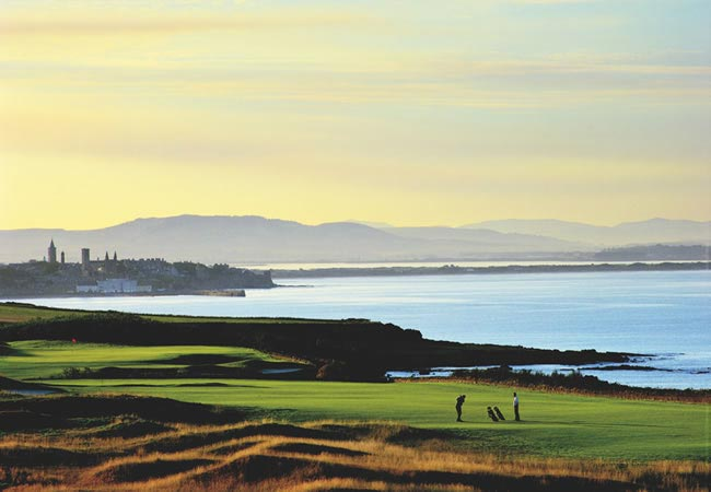 Win a fab minimoon at the Fairmont St Andrews in Scotland worth £2,000 - Golf Course