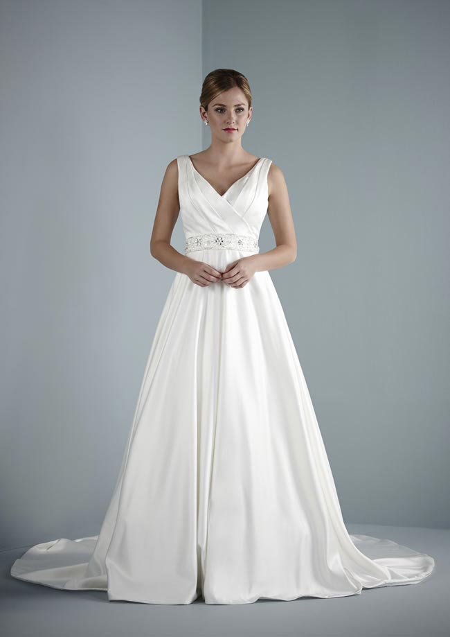 Adrianna wedding dress from Pure Bridal Collection 2014