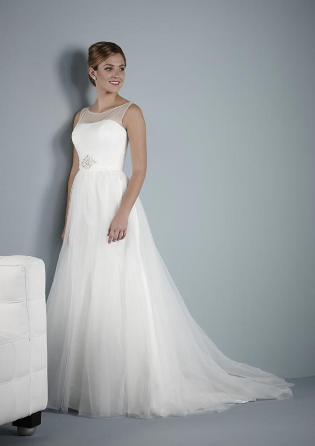 Altea wedding dress from Pure Bridal Collection 2014