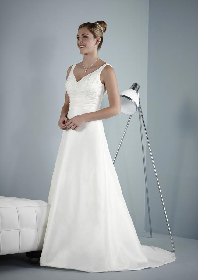 Amelia wedding dress from Pure Bridal Collection 2014