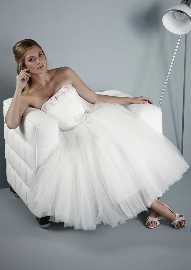 Antigua wedding dress from Pure Bridal Collection 2014