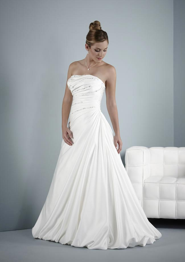 Babette wedding dress from Pure Bridal Collection 2014