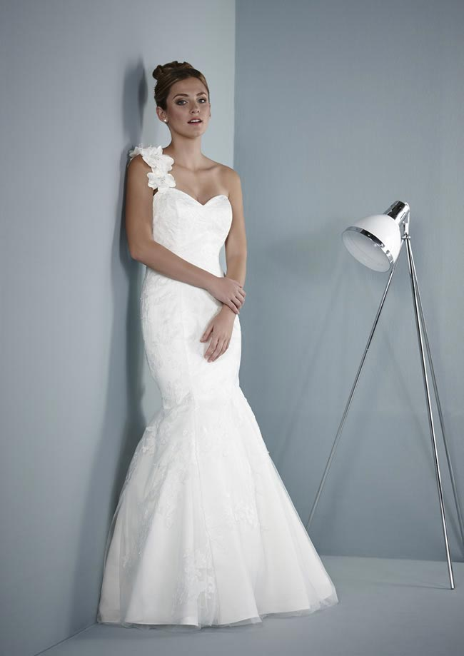 Belamie wedding dress from Pure Bridal Collection 2014