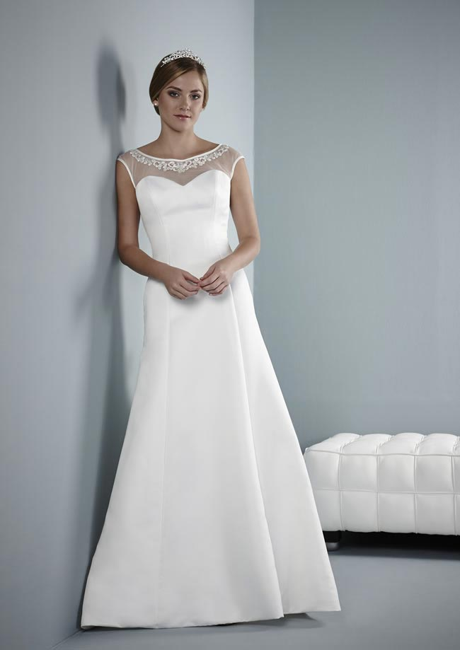 Belva wedding dress from Pure Bridal Collection 2014