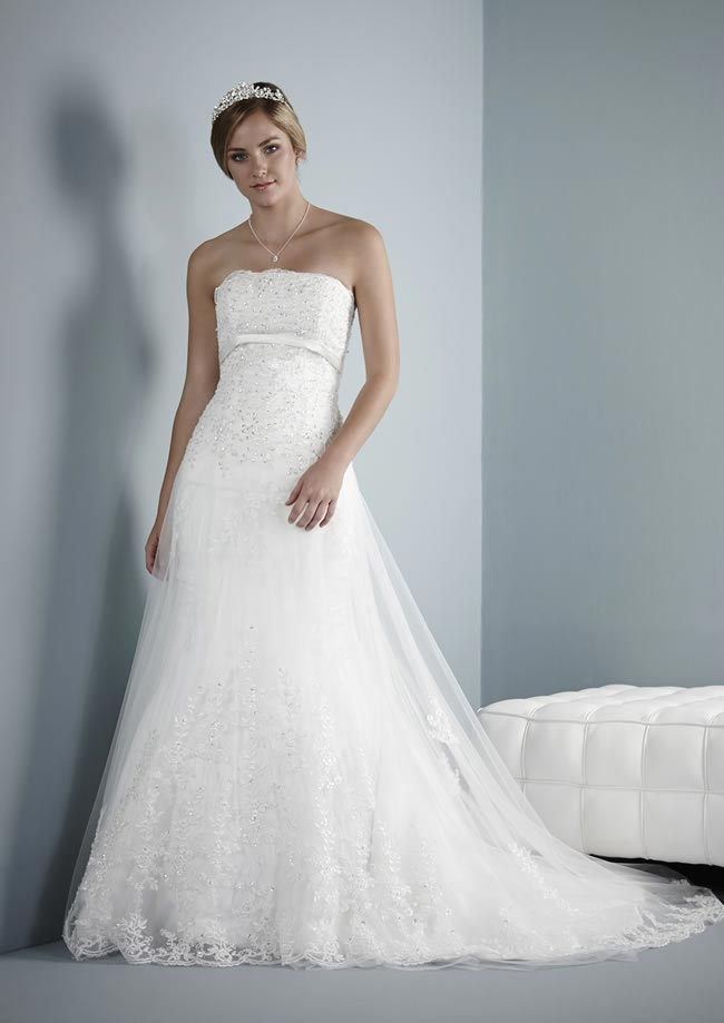 Brodie wedding dress from Pure Bridal Collection 2014