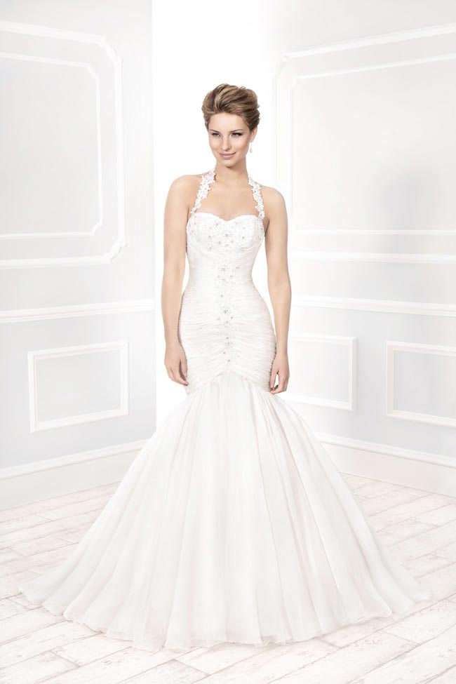 Style 11388 from the Blossom 2014 collection by Ellis bridal