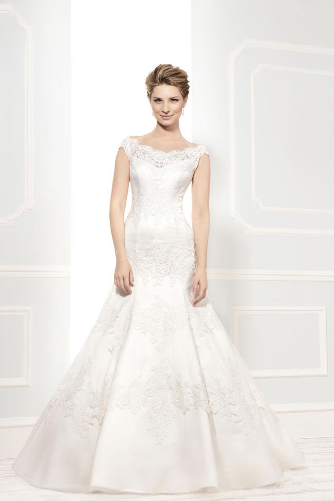 Style 11396 from the Blossom 2014 collection by Ellis bridal