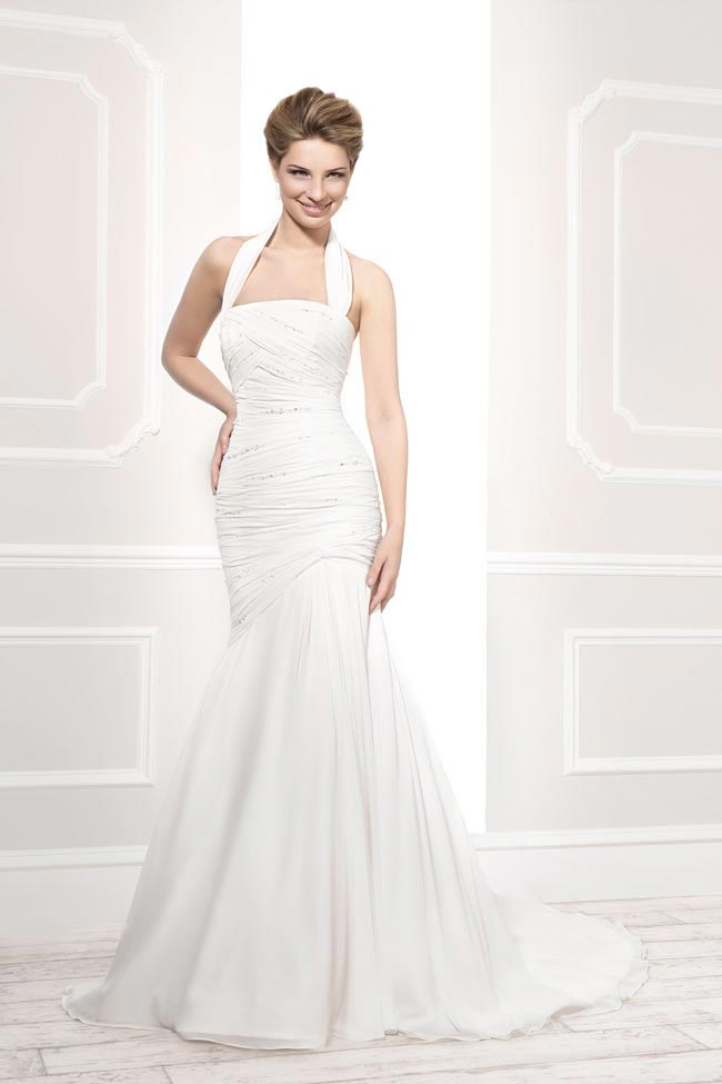 Style 11398 from the Blossom 2014 collection by Ellis bridal