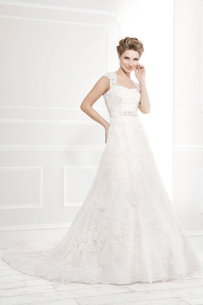 Style 11399 from the Blossom 2014 collection by Ellis bridal