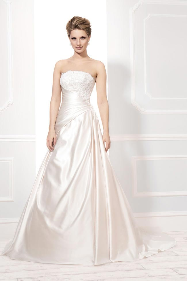 Style 12202 from the Blossom 2014 collection by Ellis bridal