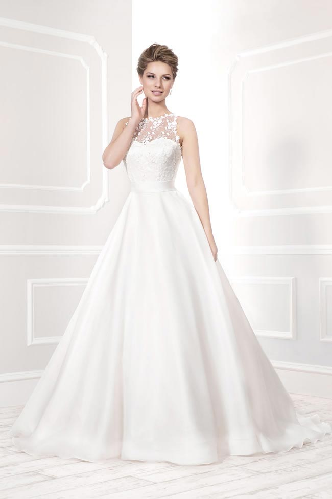 Style 19032 from the Blossom 2014 collection by Ellis bridal