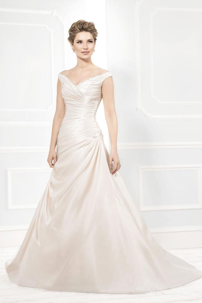 Style 12203 from the Blossom 2014 collection by Ellis bridal