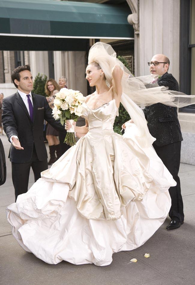Jennifer Aniston Chooses Vivienne Westwood For Her Wedding Dress