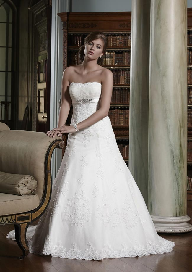 Carlotta wedding dress from Olivia Grace 2014 Collection