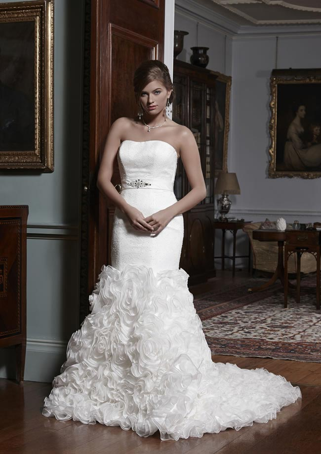Carmen wedding dress from Olivia Grace 2014 Collection