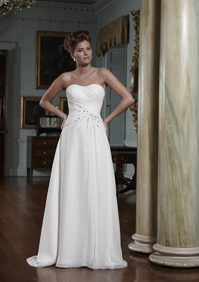 Demi wedding dress from Olivia Grace 2014 Collection