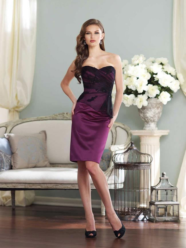 BY21395T bridesmaid dress from the Sophia Tolli 2014 collection