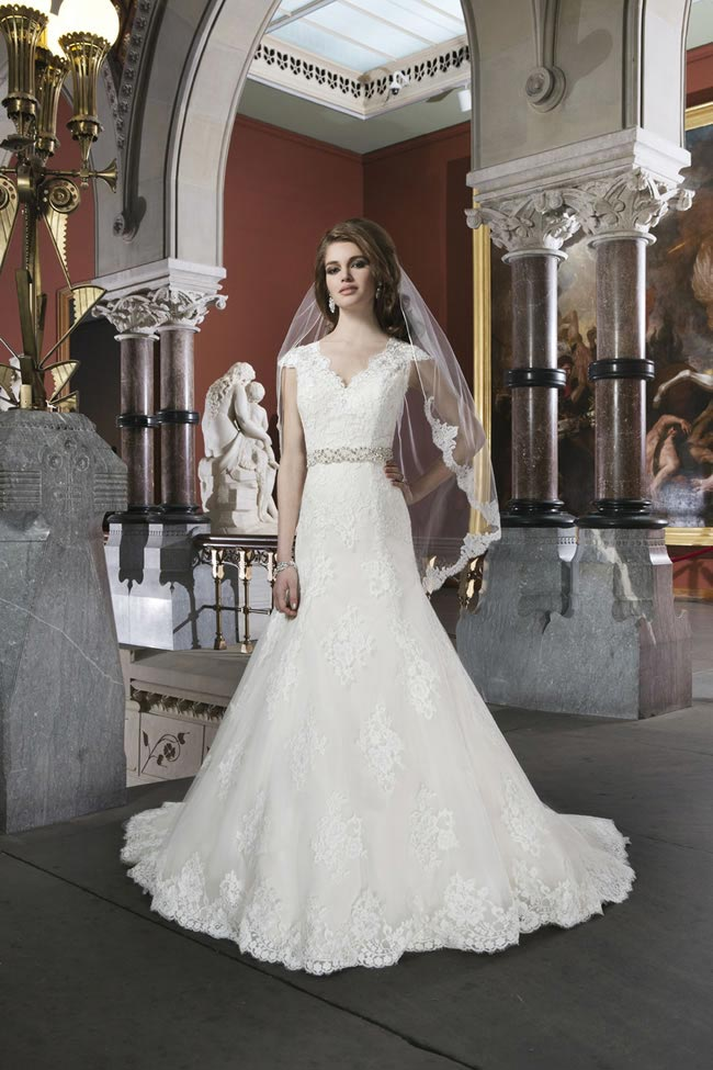 Style 8703 from Justin Alexander Bridal 2014 Spring Collection