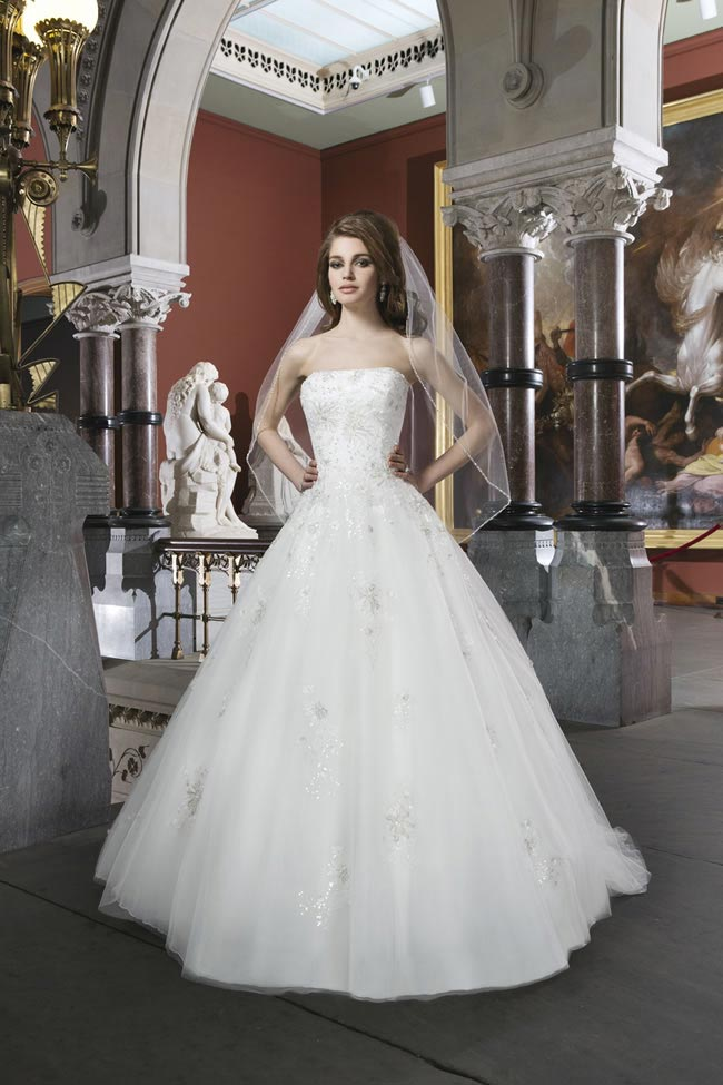 Style 8704 from Justin Alexander Bridal 2014 Spring Collection