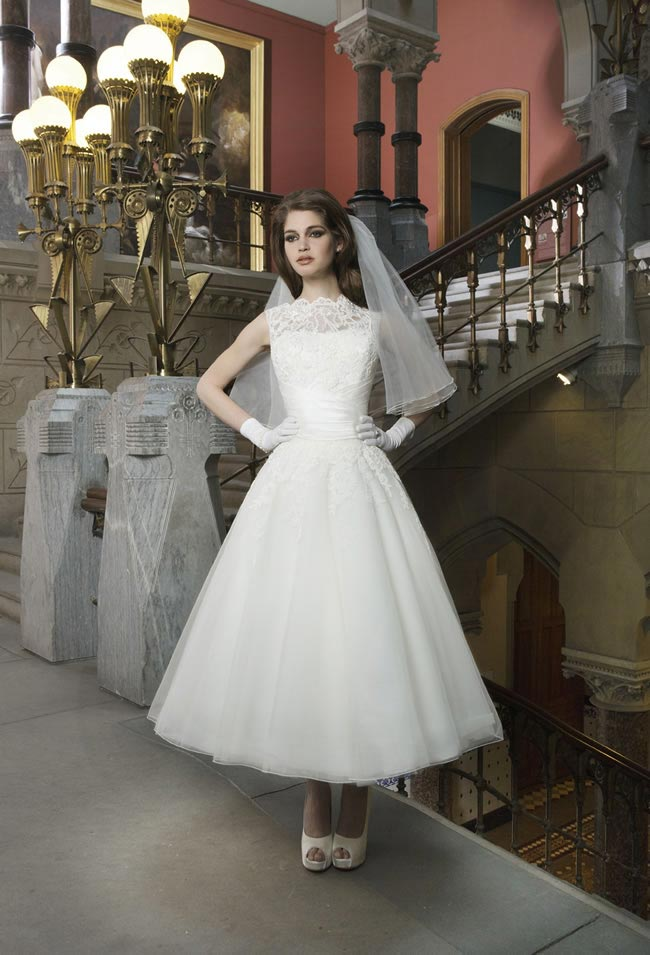 Style 8706 from Justin Alexander Bridal 2014 Spring Collection