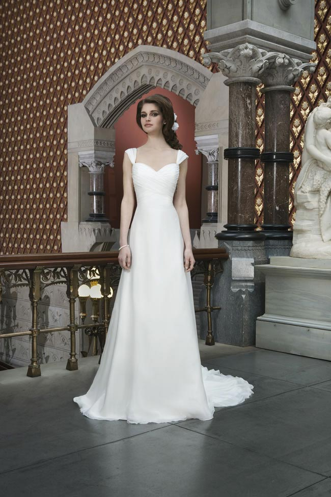 Style 8710 from Justin Alexander Bridal 2014 Spring Collection