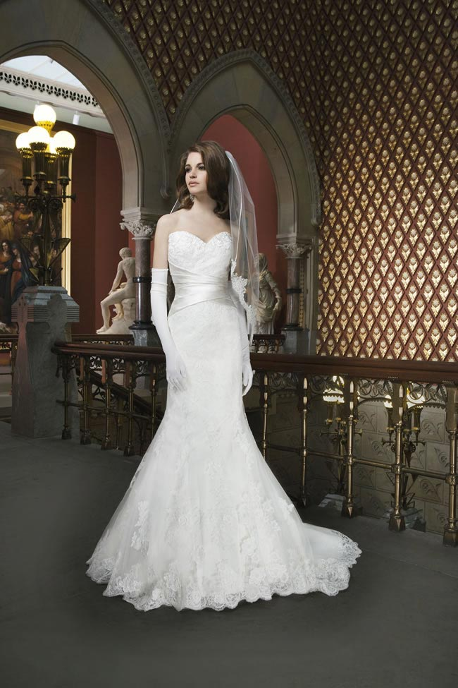 Style 8713 from Justin Alexander Bridal 2014 Spring Collection