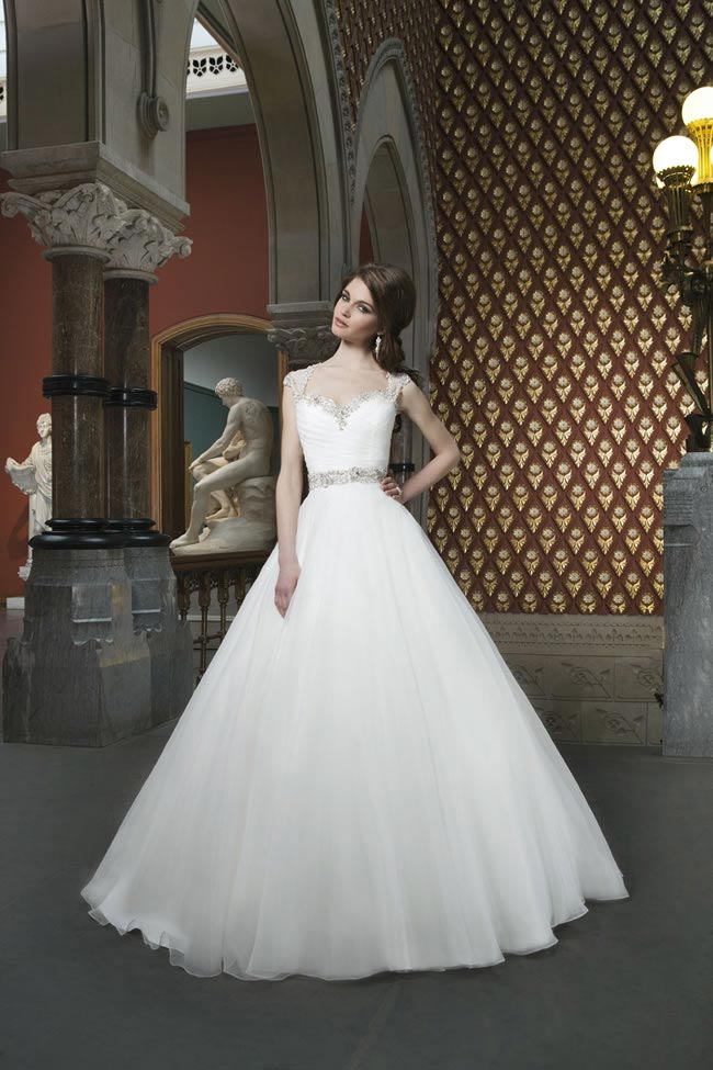 Style 8718 from Justin Alexander Bridal 2014 Spring Collection