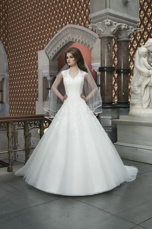 Style 8720 from Justin Alexander Bridal 2014 Spring Collection