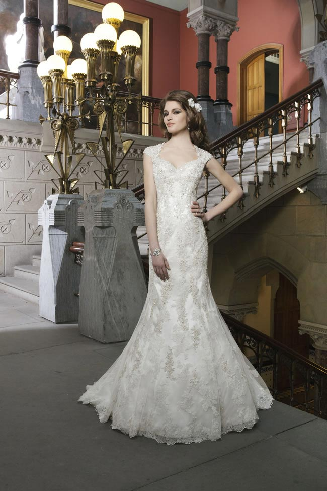 Style 8725 from Justin Alexander Bridal 2014 Spring Collection