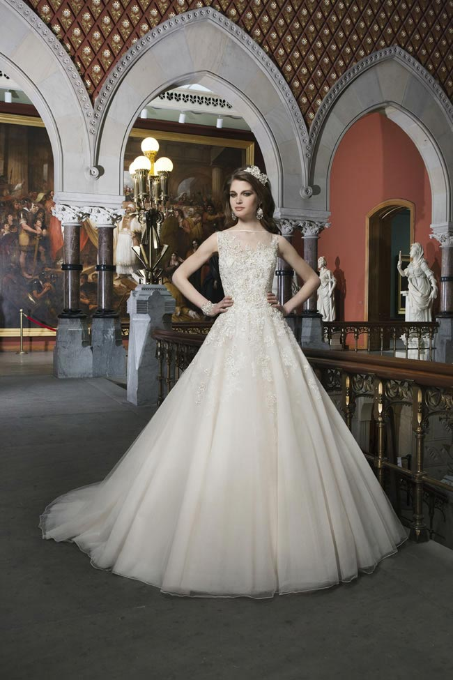 Style 8726 from Justin Alexander Bridal 2014 Spring Collection