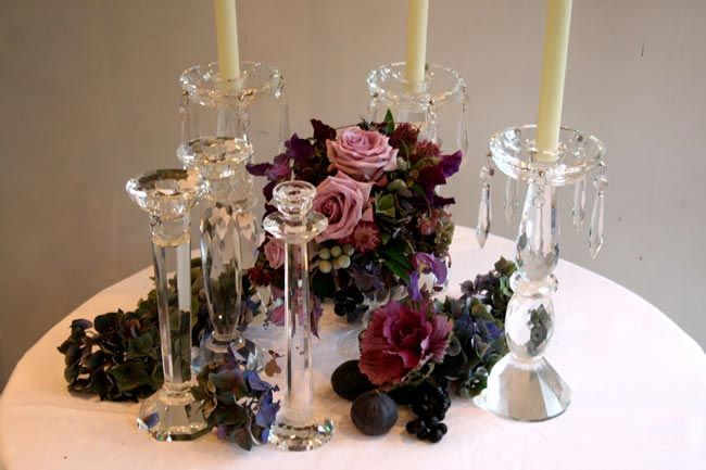 9-budget-friendly-ways-style-wedding-reception-venue-candlesticks1